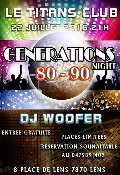generations 80-90 night