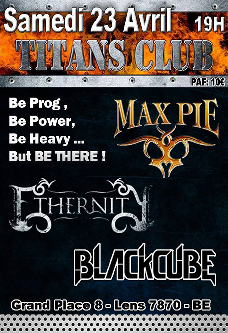 max pie/ethernity/blackcube